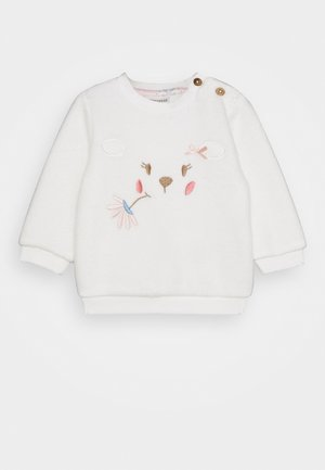 FLUFFY & LOVELY - Mikina - off-white
