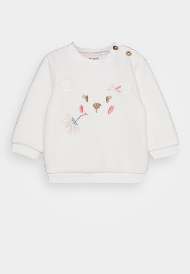 FLUFFY & LOVELY - Sweatshirt - off-white