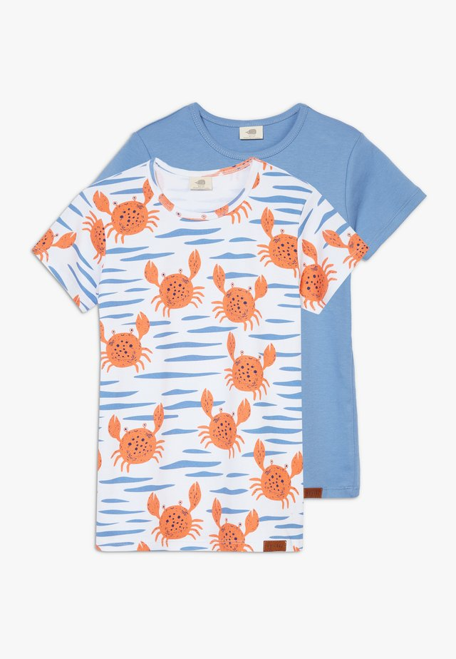HAPPY CRABS  2 PACK - T-shirts med print - multi coloured