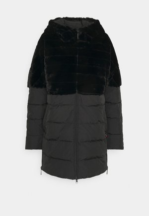 FUNCTIONAL FILLED JACKET - Winter coat - black