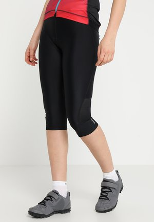 WORLDLY CAPRI - 3/4 sports trousers - black