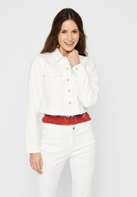 Pieces - Denim jacket - bright white - 0