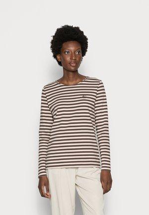 NEVADA  - Long sleeved top - brown/beige