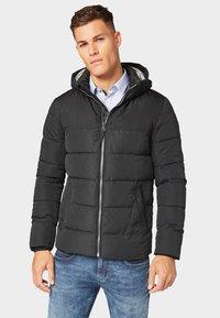 TOM TAILOR - MIT KAPUZE - Winter jacket - black - 0