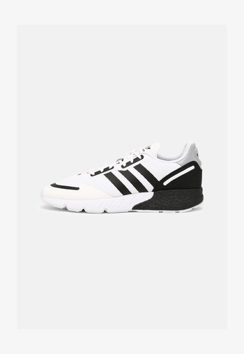 ZX 1K BOOST UNISEX - Trainers - white/black/silver