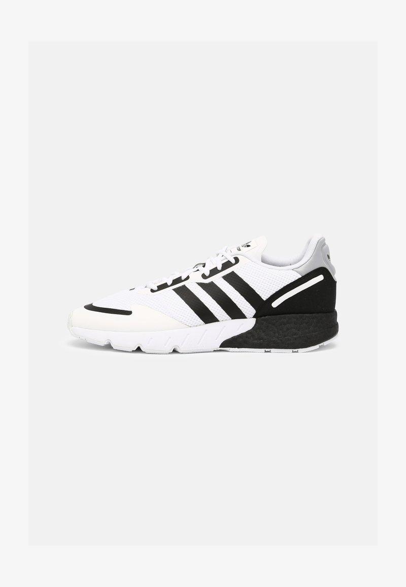 adidas Originals - ZX 1K BOOST UNISEX - Matalavartiset tennarit - white/black/silver