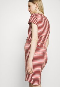 ONLY - OLMMAY LIFE DRESS - Jersey dress - apple butter - 2