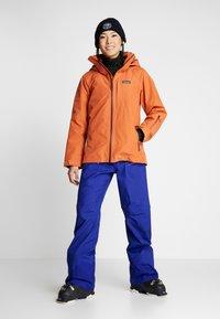 Patagonia - SNOWDRIFTER - Ski- & snowboardbukser - cobalt blue - 1