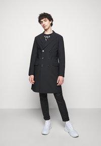 Neil Barrett - FAIR ISLE THUNDERBOLT - Sweatshirt - black/white - 1