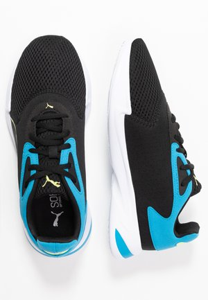 JARO - Sports shoes - black/sharp green/dresden blue
