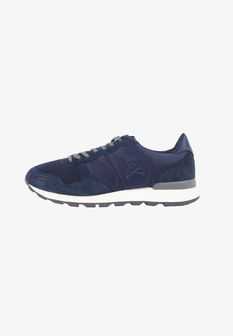 Scalpers - SKULL  - Trainers - navy