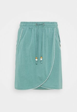 NAILA - Mini skirt - dusty green