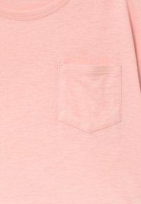 Benetton - Triko spotiskem - light pink - 3