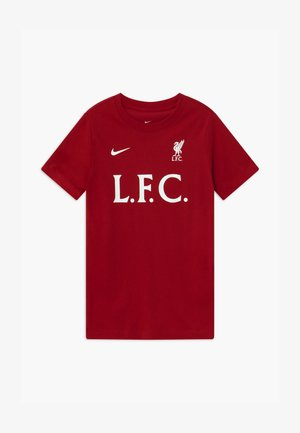 LIVERPOOL FC TEE CORE MATCH - Club wear - gym red