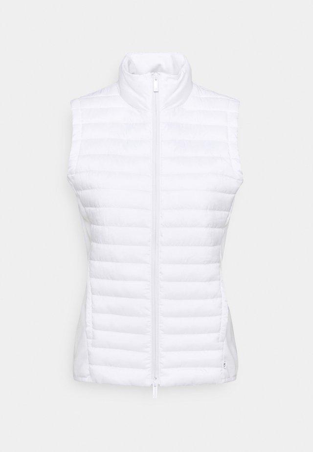 YARRA GILET - Waistcoat - white