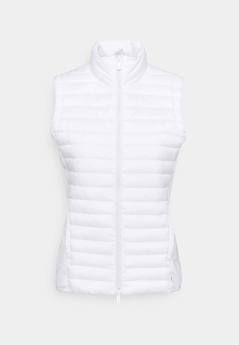Calvin Klein Golf - YARRA GILET - Waistcoat - white