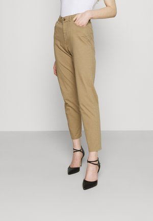 ONLVENEDA MOM PANT - Trousers - elmwood