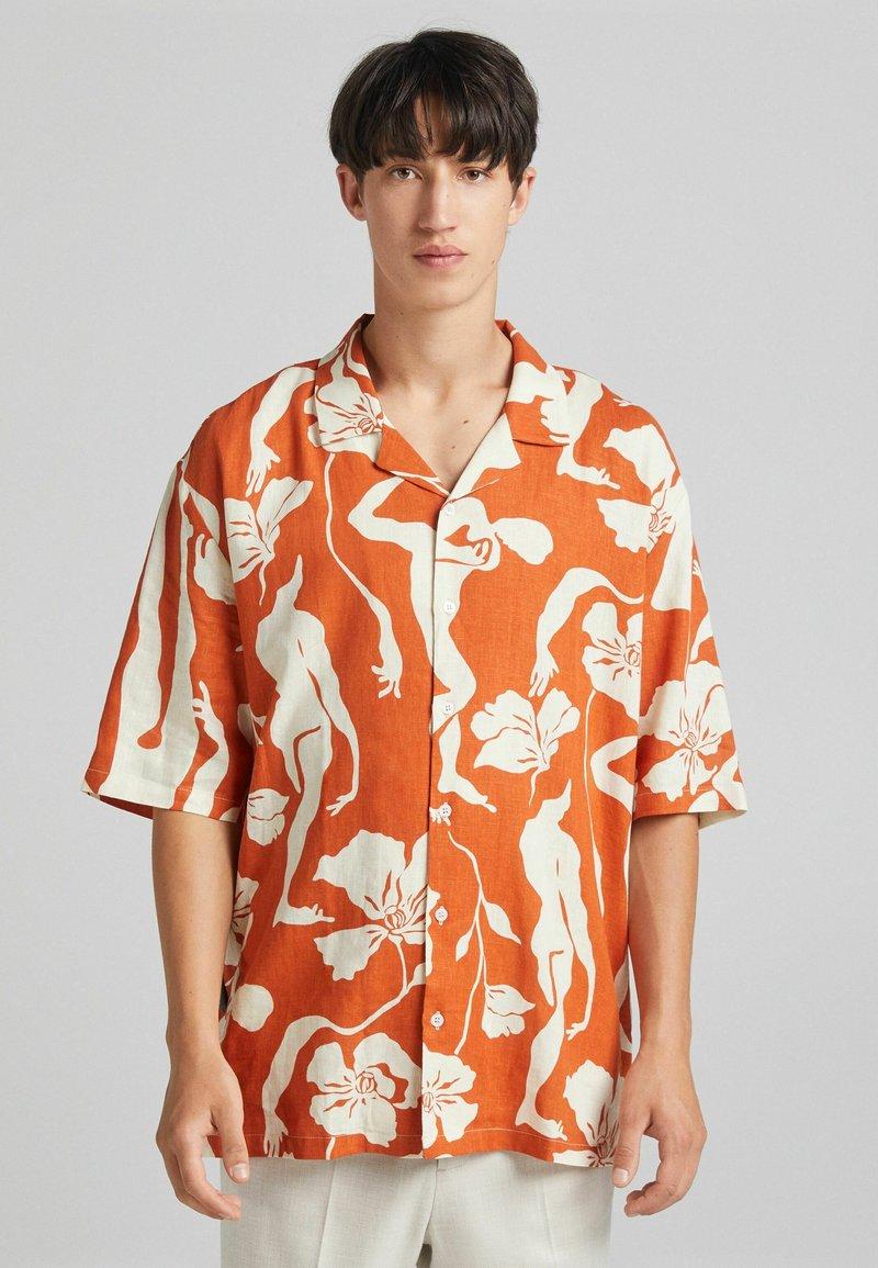 Bershka - Shirt - orange