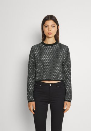 YOUNG LADIES KNITTED - Jumper - black