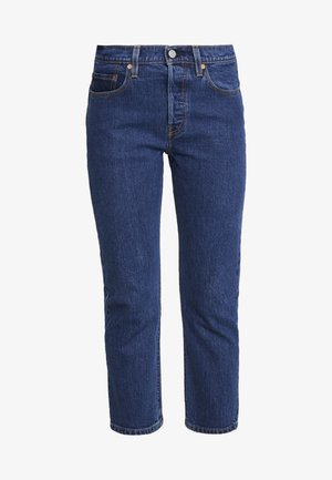 501® CROP - Jeansy Straight Leg - charleston vision