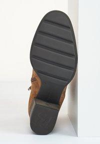 Paul Green - Ankle boots - cognac-braun 027 - 5