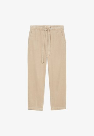 AUS ORGANIC CORD - Trousers - blushed camel