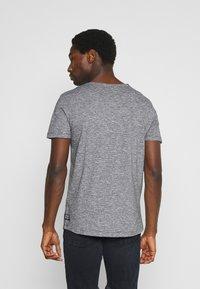 TOM TAILOR DENIM - Print T-shirt - dark blue - 2