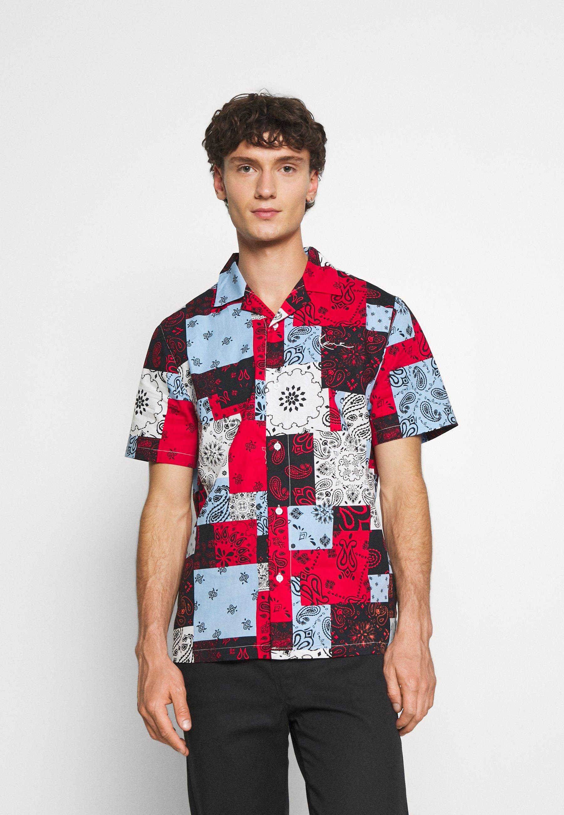 Men SMALL SIGNATURE PAISLEY RESORT SHIRT - Shirt