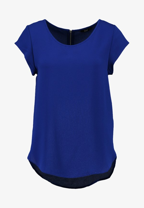 ONLY ONLVIC SOLID - T-shirt z nadrukiem - surf the web/niebieski FQML