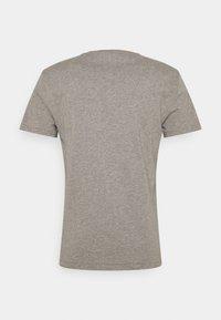 Polo Ralph Lauren - CUSTOM SLIM FIT JERSEY CREWNECK T-SHIRT - Basic T-shirt - metallic grey heather - 1