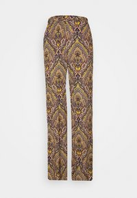 ONLY Tall - ONLVIDE WIDE PANT - Bukse - golden spice/spicy boho - 0