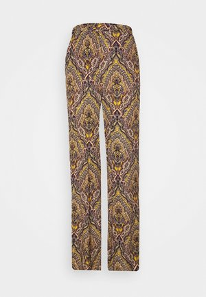 ONLVIDE WIDE PANT - Trousers - golden spice/spicy boho