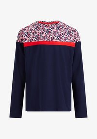 WE Fashion - MET DESSIN - Langarmshirt - blue - 0