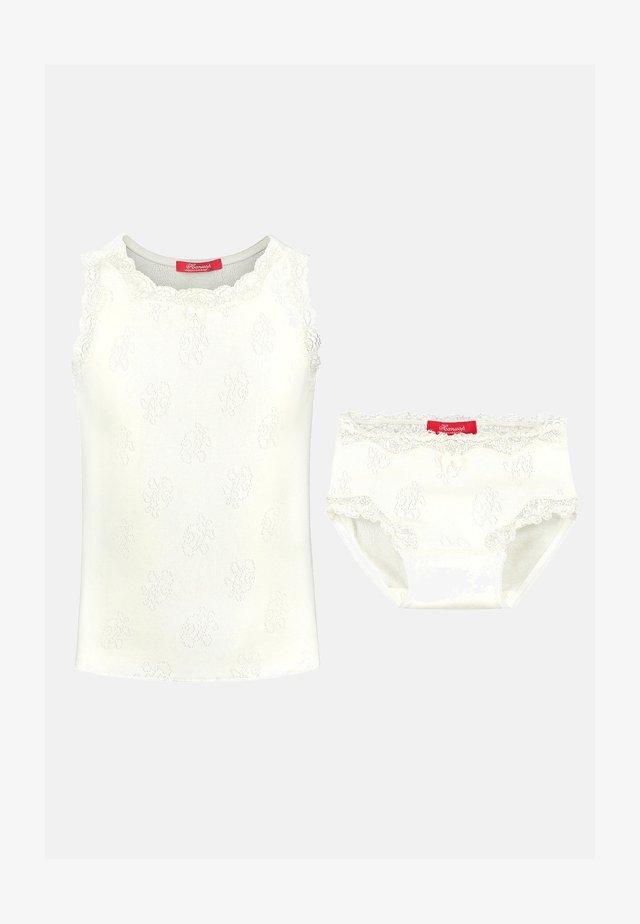SET - Underwear set - ivory