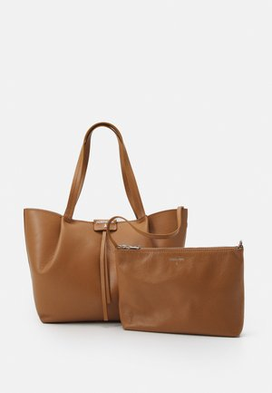BORSA BAG SET - Handbag - cognac