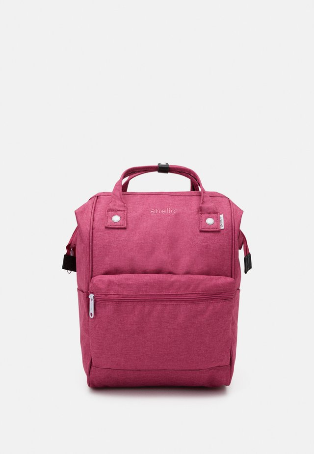 TOTE BACKPACK UNISEX - Reppu - bright pink
