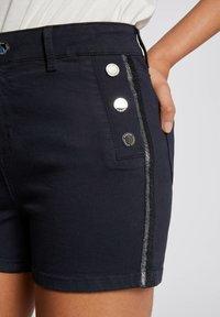 Morgan - Denim shorts - dark blue - 3