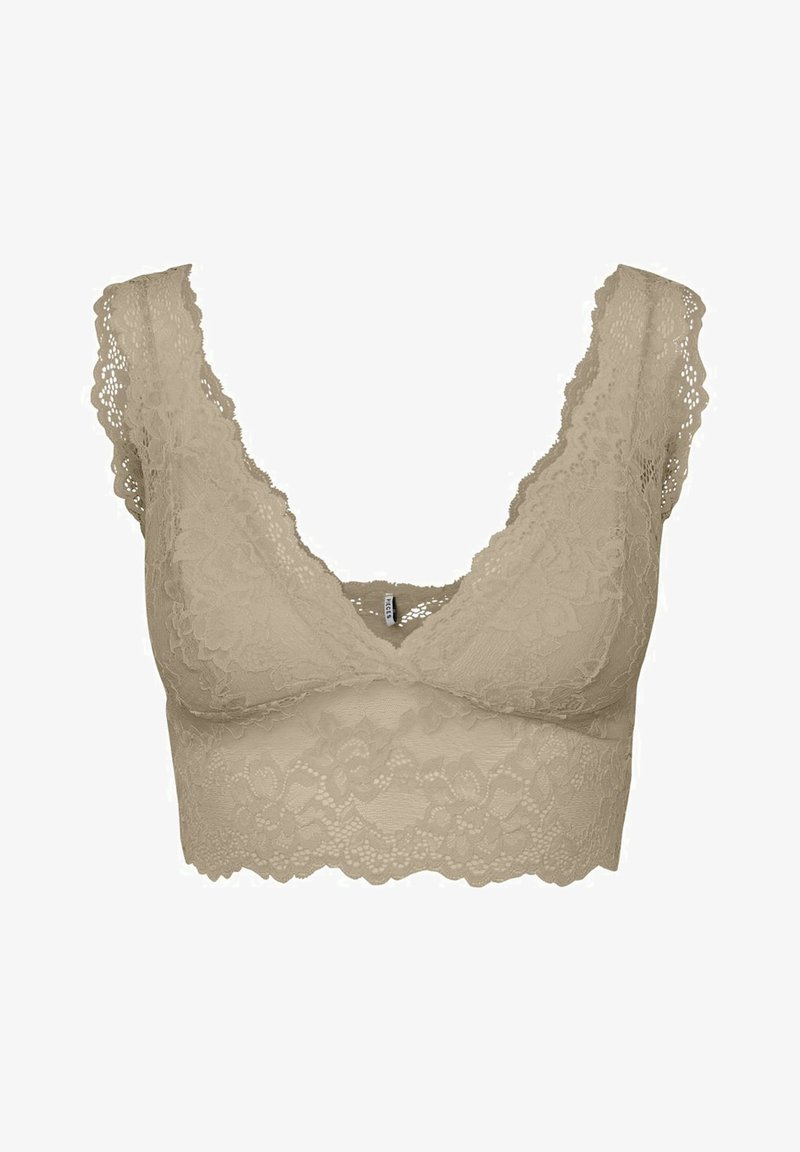 Pieces - PCLINA BRA - Bustier - white pepper