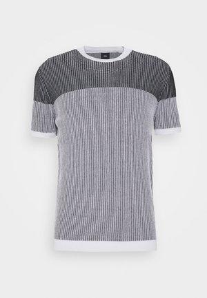MIXED TEE - T-shirt imprimé - black