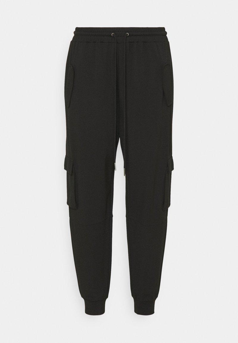Noisy May Curve - NMPALMA PANTS - Cargo trousers - black