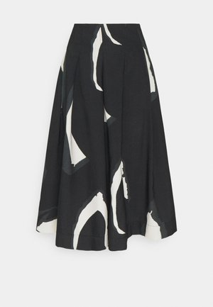 SALLY - A-line skirt - black