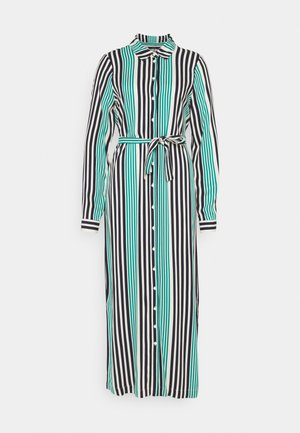 VMNIVA SHIRT DRESS  - Maxi-jurk - navy blazer/parasailing/birch