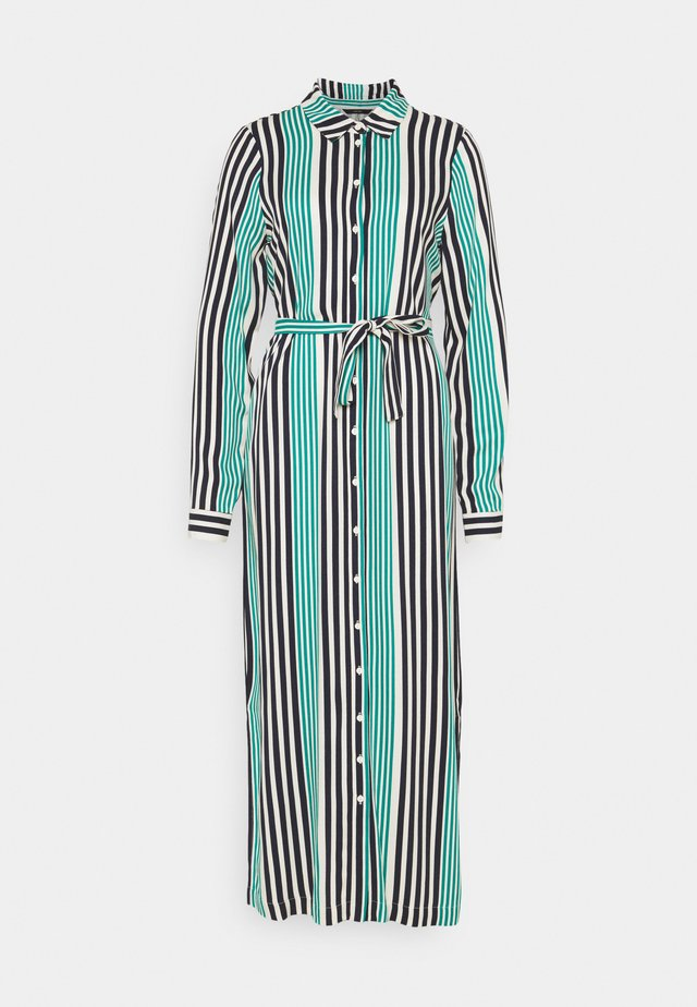 VMNIVA SHIRT DRESS  - Maxi dress - navy blazer/parasailing/birch
