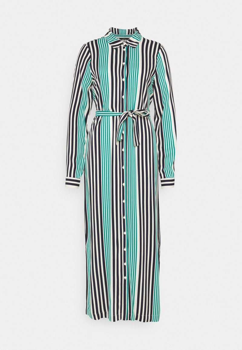 Vero Moda Tall - VMNIVA SHIRT DRESS  - Maxi dress - navy blazer/parasailing/birch