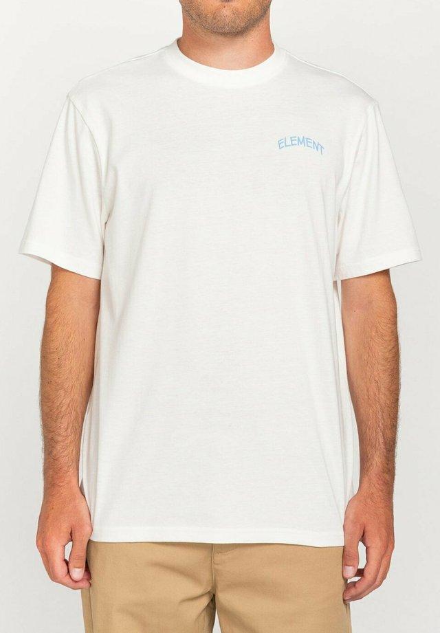 PEANUTS EMERGE - T-shirts print - off white
