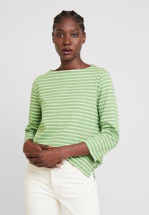 Mikina - green horizontal