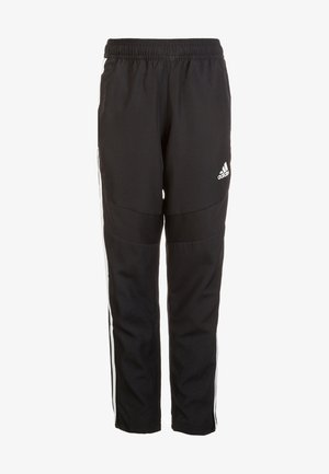 TIRO 19 WOVEN CLIMALITE PANTS - Trainingsbroek - black / white