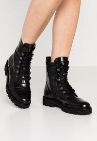 Gabor - Platform ankle boots - schwarz - 0