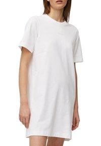 Marc O'Polo - Day dress - white linen - 5