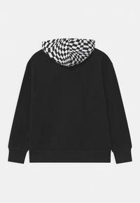 Converse - CHECKER HOODIE - Sweatshirt - black - 1